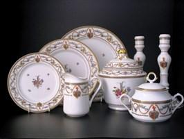 Посуда из фарфора, фаянса, керамики