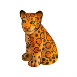 Копилка Детеныш Леопарда флок 23х20х30 см /1х8/ - фото 10432