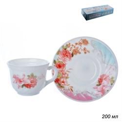Чайный набор 12 предметов 200мл XWB190HP55-6A 6801 - фото 10747