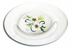 Тарелка десертная 19,6 см Симпатия Деколь микс - фото 11079