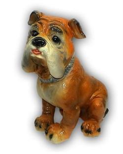 Копилка Собака Боксер шипы 14х26х27 см - фото 11712