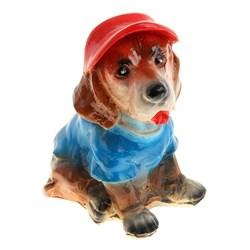 Копилка Собака Лидер 9х17х21 см - фото 11715