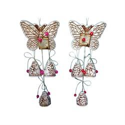 Оберег Бабочка-колокольчики 3 - фото 11884