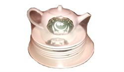 Набор 8 предметов Мечеть (Чайник+6 тарелок+блюдо) - фото 12930