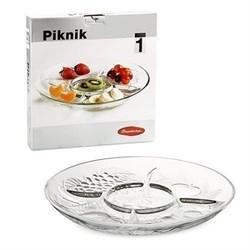 Менажница PIKNIK d=310 мм,h=40 мм 54646 ВВ/1х6/ - фото 13200