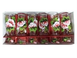 Набор 12 предметов Художка (6 стаканов+6 стопок) - фото 14578
