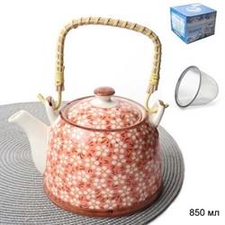 Чайник заварочный 850 мл с метал.ситом / DS-1257 - фото 15821