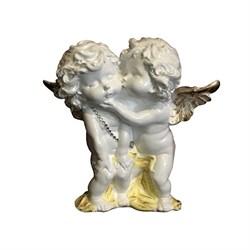 Ангелы пара целующиеся стоящие пастель/1х7/23х7х23 - фото 17459