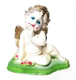 Ангел мальчик 28х17х27 см - фото 18130