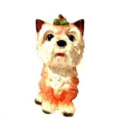Копилка Собака Чапа малая 10х11х18 см - фото 23615