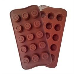 Форма силиконовая  для конфет и льда 15 ячеек - фото 23651