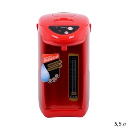 Термопот 5,5 л Красный /1х6/ - фото 23853