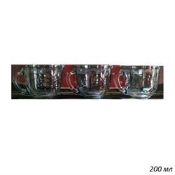 Кружка 1337 Золотое напыление 200 мл набор 6 штук - фото 28534