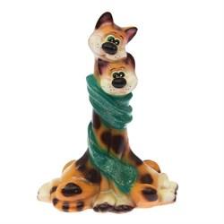 Копилка Коты в шарфе глянец микс 21х12х29 см /1х16 - фото 28966