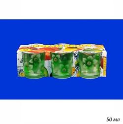 Стопка матовая цветная набор 6 штук 50 мл - фото 33541
