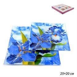 Тарелки квадратные 2 предмета 25, 20 см W1002-Z854 - фото 4591