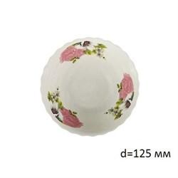 Миска №5 арт.211 Розовые цветы/1х12х12/d=12,5см - фото 4616