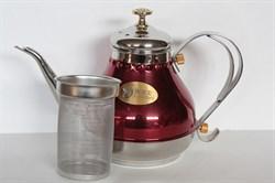 Чайник металлический 1,2 л Восточнй - фото 4748