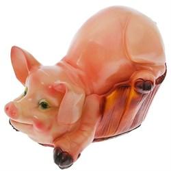 Свинья в корыте большая 29х41 см - фото 5176