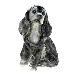 Копилка Собака Леди 35х23х25 см - фото 5182