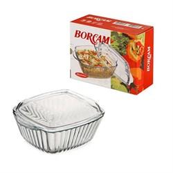 Посуда для СВЧ Borcam 59039 квадратная 204х160 мм - фото 5324