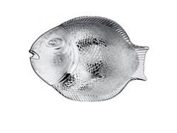 Тарелка РЫБА 10258/1х6/ 31,5х24,5 см в гофре - фото 5442