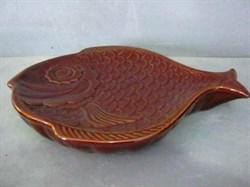 Блюдо Рыба керамика  29х24 см - фото 5656