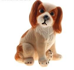 Копилка Малыш флок собака/1х14/ 18х13х19 см - фото 5838