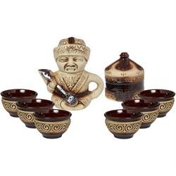 Чайный сервиз Юрта 8 предметов /1х10/ - фото 6066