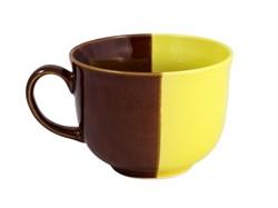 Кружка Аппетитка желто-коричневая бульонная 0,55 л - фото 6145