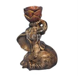 Статуэтка Слон сидит /1х10/ 29 см - фото 6583
