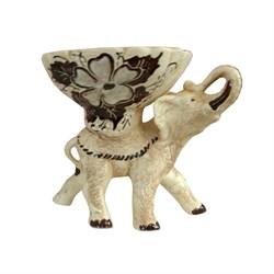 Конфетница Слон шамот/1х12/ 21х17х19 см - фото 6605