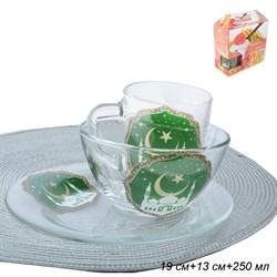 Набор 3 предмета Мечеть (кружка+салатник+тарелка) - фото 6768