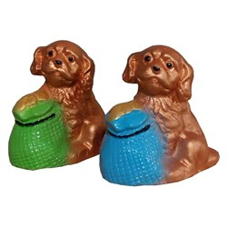 Статуэтка Собака с мешком/1х120/ 8 см - фото 6810