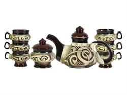 Чайный сервиз Алладин 8 предметов 0,7 л /1х6/ - фото 7611