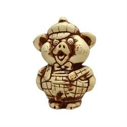 Статуэтка Свинка мальчик 7х6,5х11 см - фото 7768