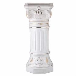 Колонна Греческая белая глазурь 78 см - фото 7913