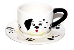 Чайная пара Собака с косточкой/1х60/ 165266 - фото 8059