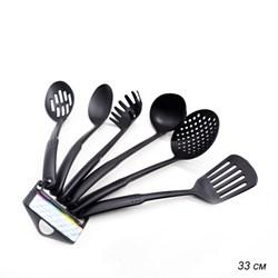 Кухонный набор 6 предметов 33 см / DG-146 /уп 50/ - фото 8087