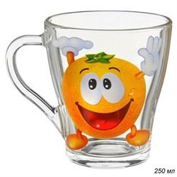Кружка 1649 Веселые фрукты /1х20/ 250 мл - фото 8616
