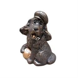 Копилка Собака с мячом бронза/1х40/ 19 см - фото 9537