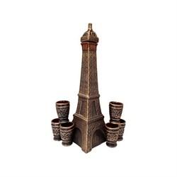 Винный набор Эйфелевая башня 1,5 л/1х8/ 42 см - фото 9595