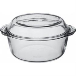 Посуда для СВЧ Borcam 59003 круглая с крышкой 2,2л - фото 9857