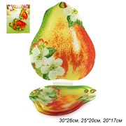 Блюдо для сервировки 3 предмета Груша PR01/3 M211