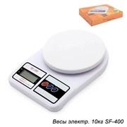Весы электронные 10 кг/SF-400/уп 40/ с батарейками