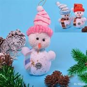 Новогоднее елочное украшение Снеговик / YT-8503