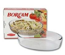 Посуда для СВЧ Borcam 59084 овальная 263х182 мм