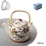 Чайник заварочный 550 мл с метал.ситом / DS-1455