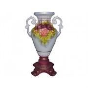 Ваза Версаль цвет.лепка акрил напольная В-66 см