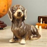 Фигура Собака Такса Шамот/1х7/ 15х32х25 см